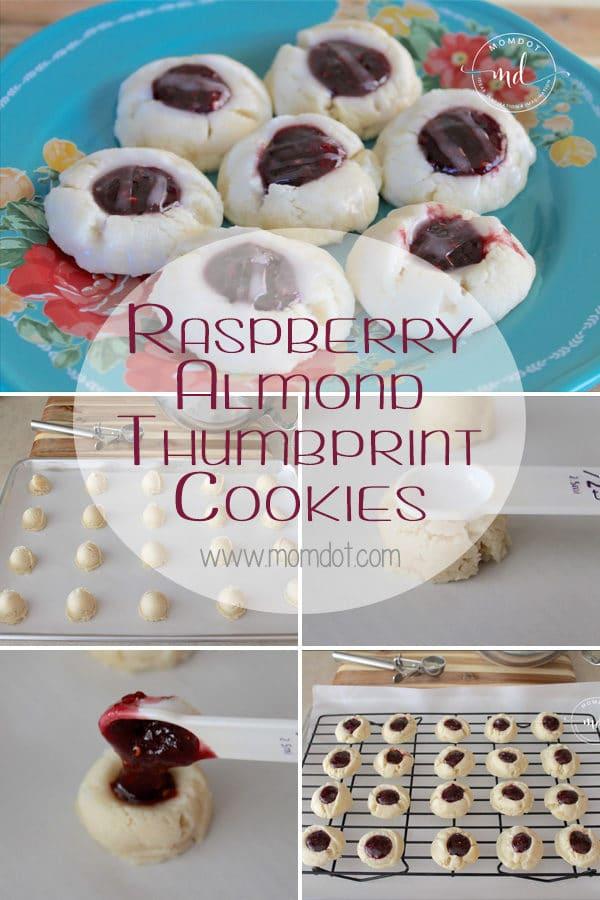 Raspberry Almond Thumbprint Cookies Recipe: Fast & Easy