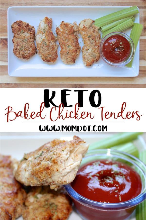 Keto Baked Chicken Tenders Recipe: Quick & Easy