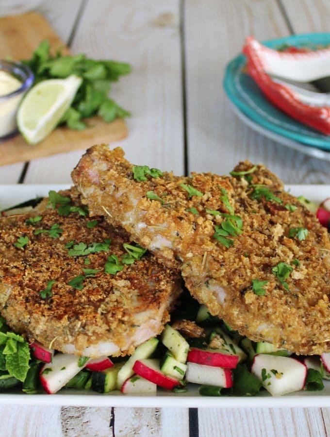 Herb-Crust Pork Chops: A Simple Keto Recipe