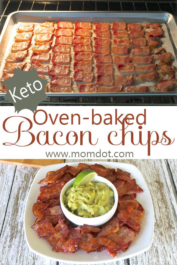 Oven-baked Bacon Chips: A Simple Keto Snack