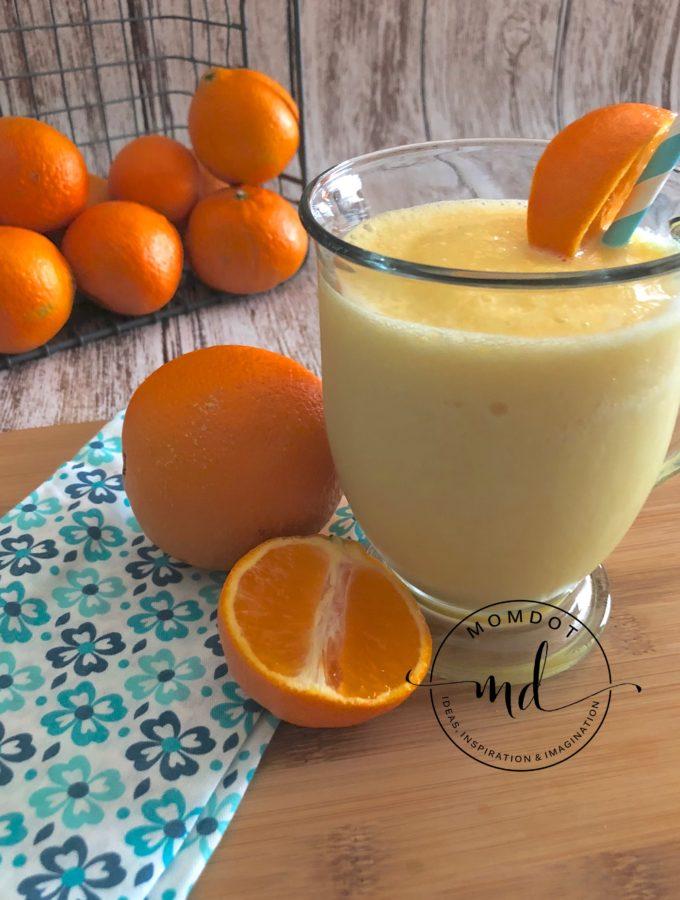Copycat Orange Julius: A Frozen Sweet Treat
