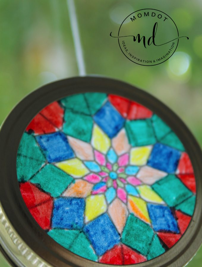 Sun Catchers: A Kids Craft DIY
