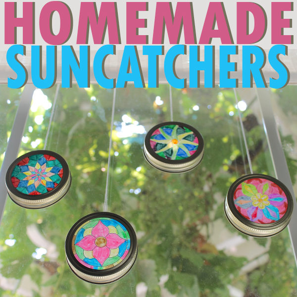 Sun Catchers A Kids Craft Diy
