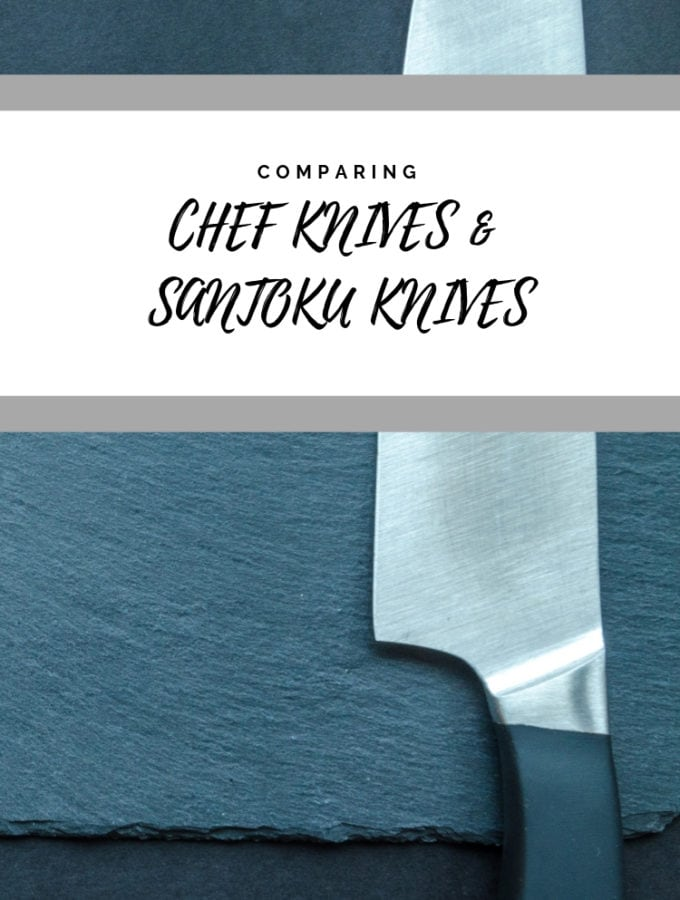 Santoku vs Chef's Knife: Which is Better and what's the Difference?