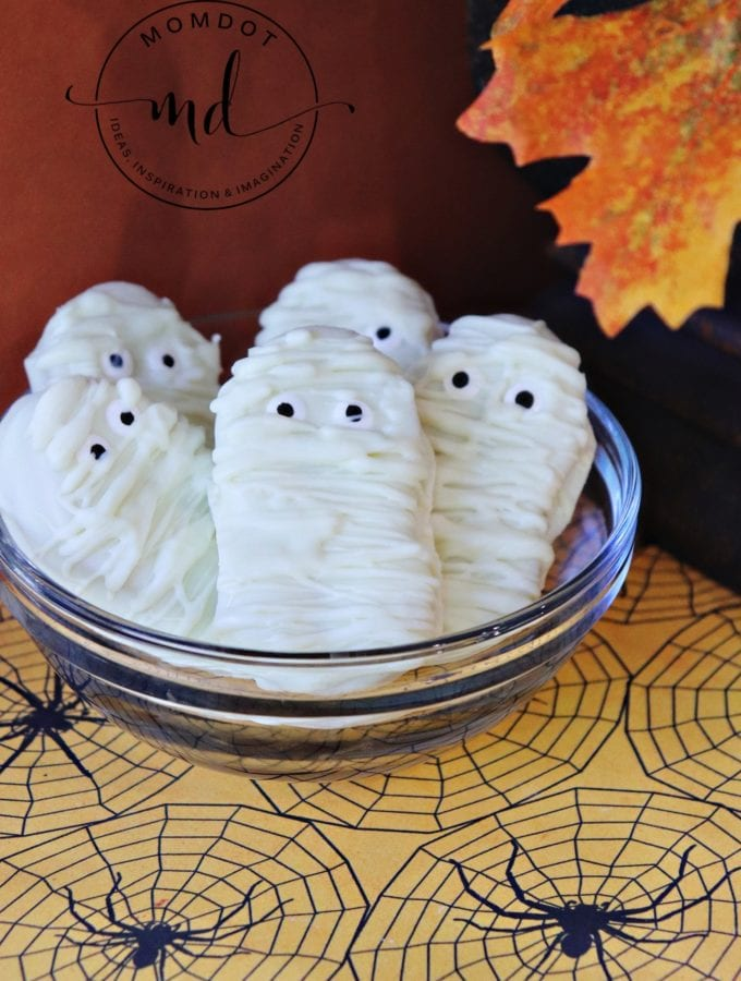 Nutter Butter Mummies – Frightfully Easy To Make!