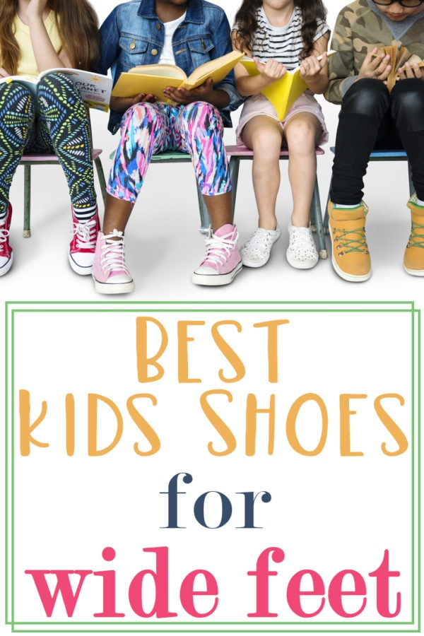 Best Kids Shoes for Wide Feet: 2020