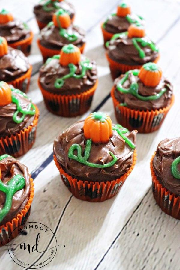 Pumpkin Patch Cupcakes