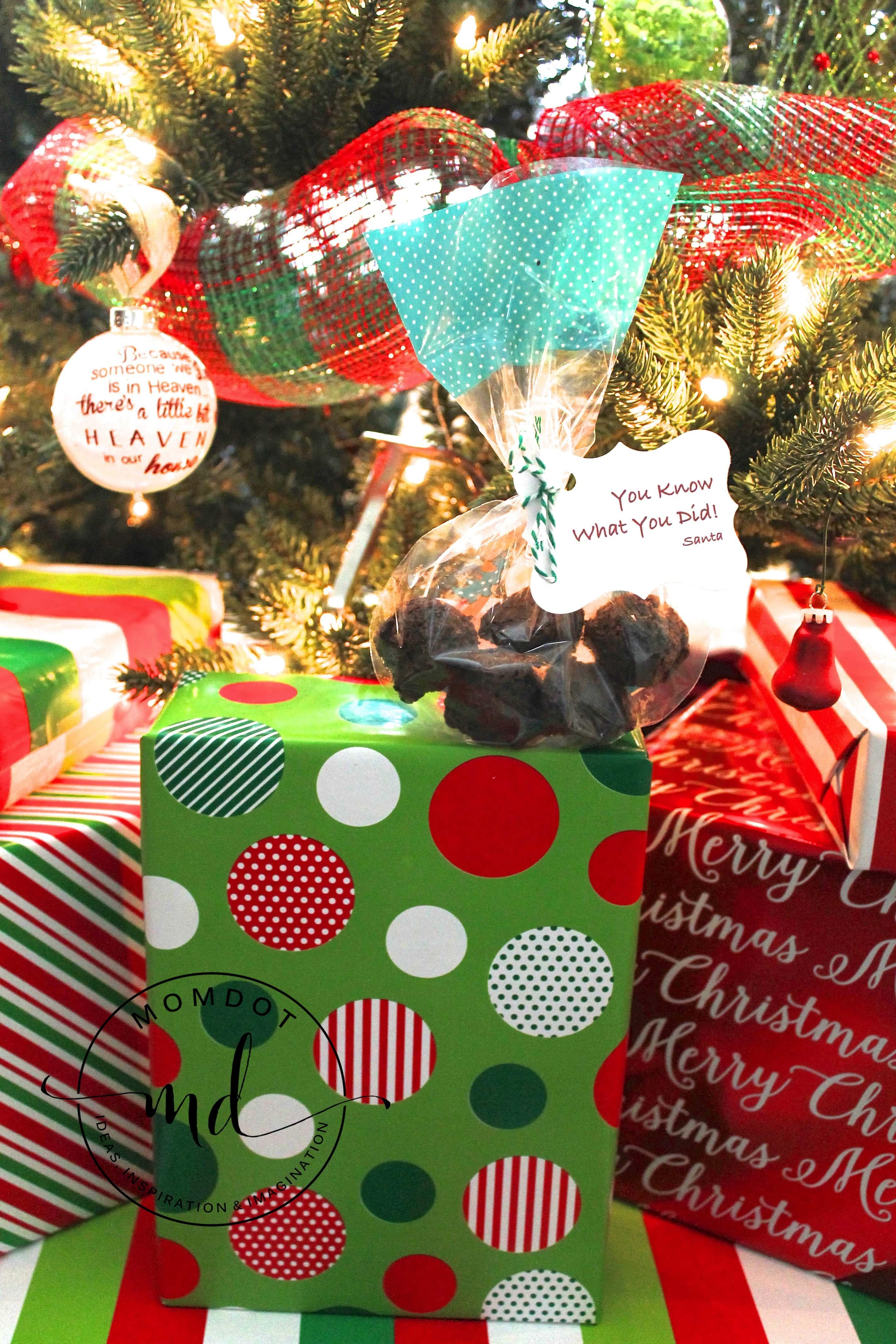 Lump Of Coal For Christmas.Santa S Lumps Of Coal A Simple Cookie Recipe Momdot