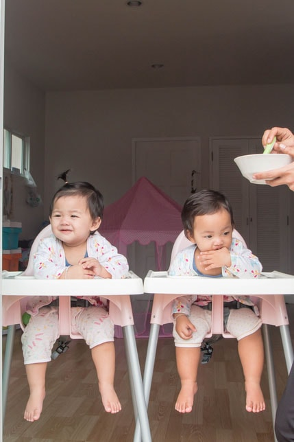 best high chair for twins