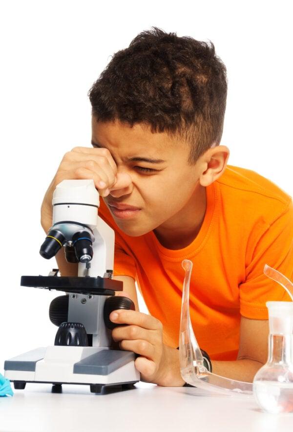 Omano JuniorScope Microscope for Kids Microscope Science...
